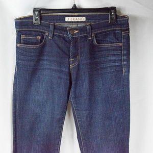 J Brand Blue Jeans Cigarette Leg Size 28